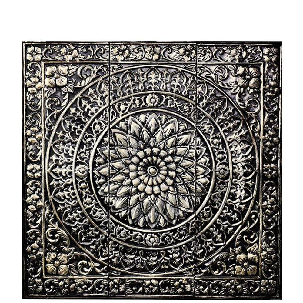 ordinary Square Metal Wall Decor Part - 1: Square Metal Wall Decor in Metallic