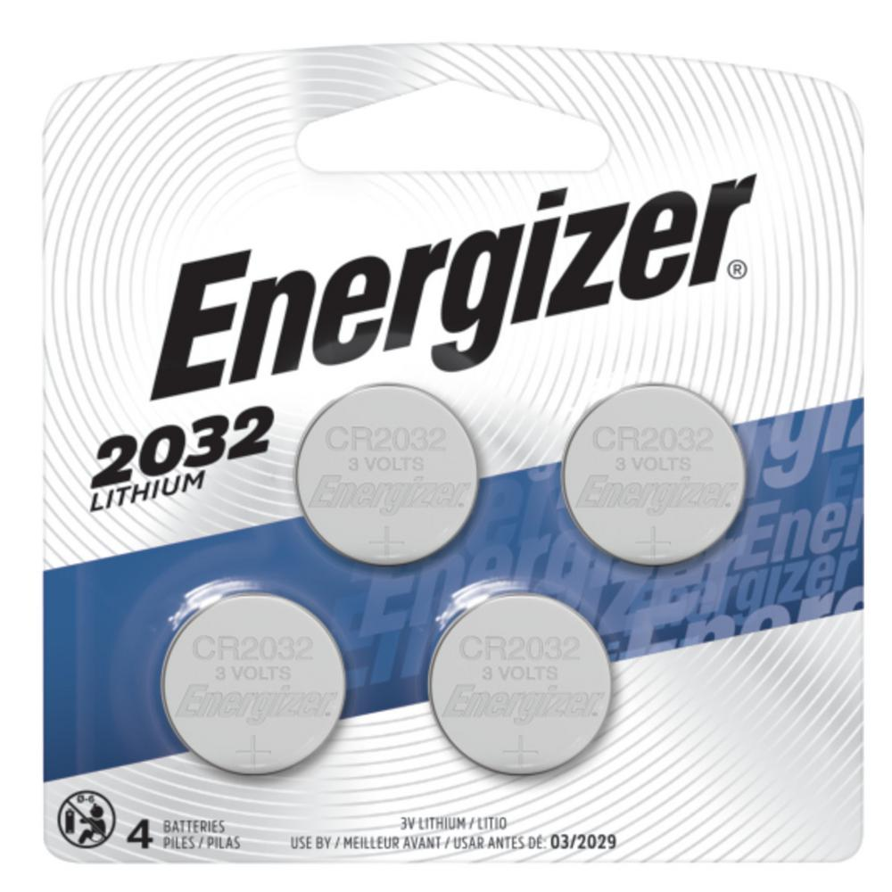 Energizer 2032 Lithium Battery (4-Pack)