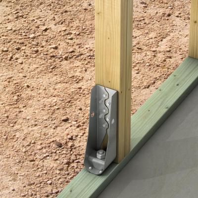 HDU 10-15/16 in. Galvanized Predeflected Holdown with Strong-Drive SDS Screws