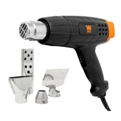 12.5 Amp Dual-Temperature Heat Gun with Attachments