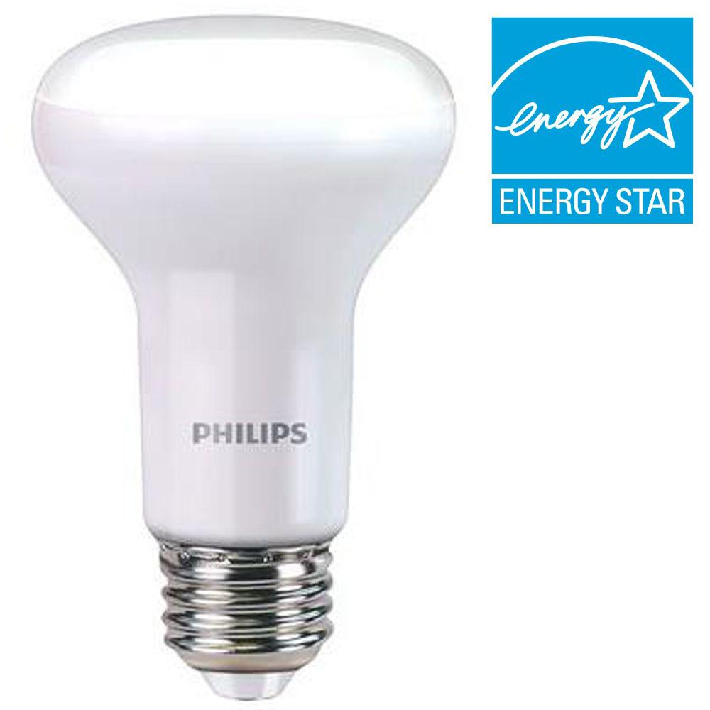 philips 45w equivalent soft white r20 dimmable with warm glow light effect led light bulb e 4. Black Bedroom Furniture Sets. Home Design Ideas