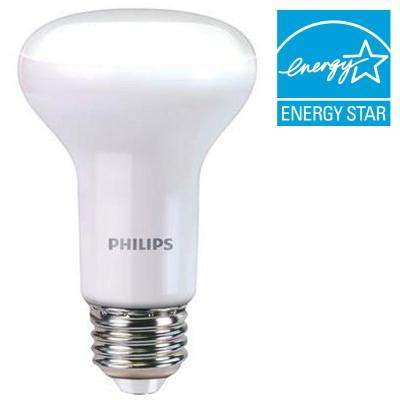 45W Equivalent Soft White R20 Dimmable with Warm Glow Light Effect LED Light Bulb (E) (4-Pack)