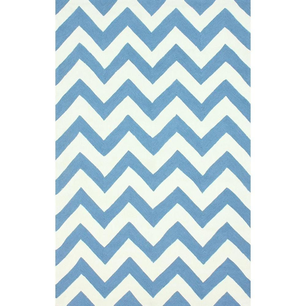 Nuloom Crandall Turquoise 7 Ft 10 In X 9 Ft 6 In Area: NuLOOM Rowan Blue 7 Ft. 6 In. X 9 Ft. 6 In. Area Rug