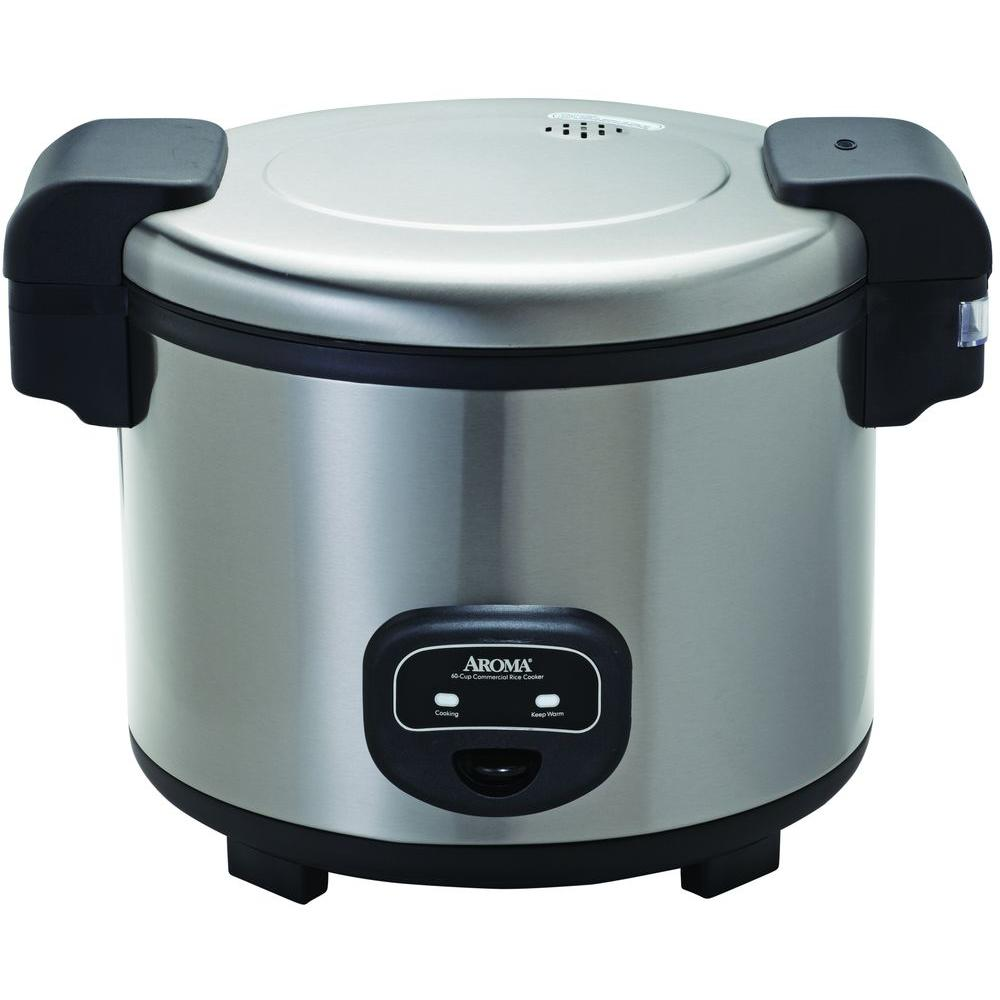 aroma commercial 60 cup rice cooker arc 1130s the home depot rh homedepot com Aroma Professional Rice Cooker Aroma Rice Cooker Directions