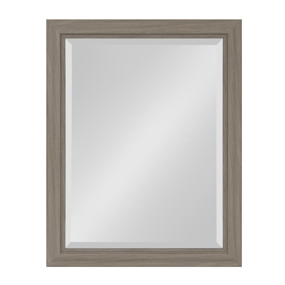Dalat Rectangle Gray Accent Mirror