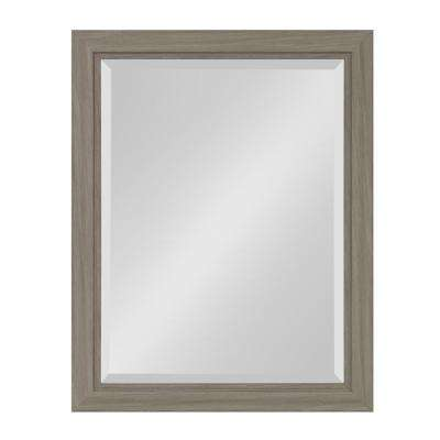 Dalat Rectangle Gray Accent Mirror