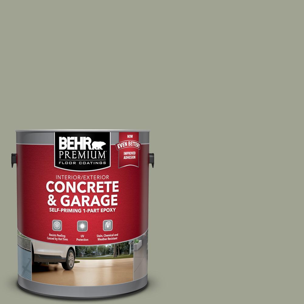 1 gal. #PFC-38 Elemental Green Self-Priming 1-Part Epoxy Satin Interior/Exterior Concrete and Garage Floor Paint