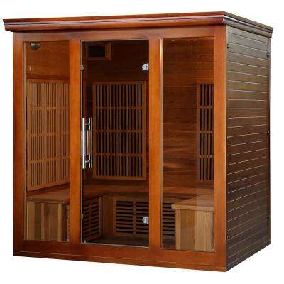 4 to 5-Person Cedar Elite Premium Sauna