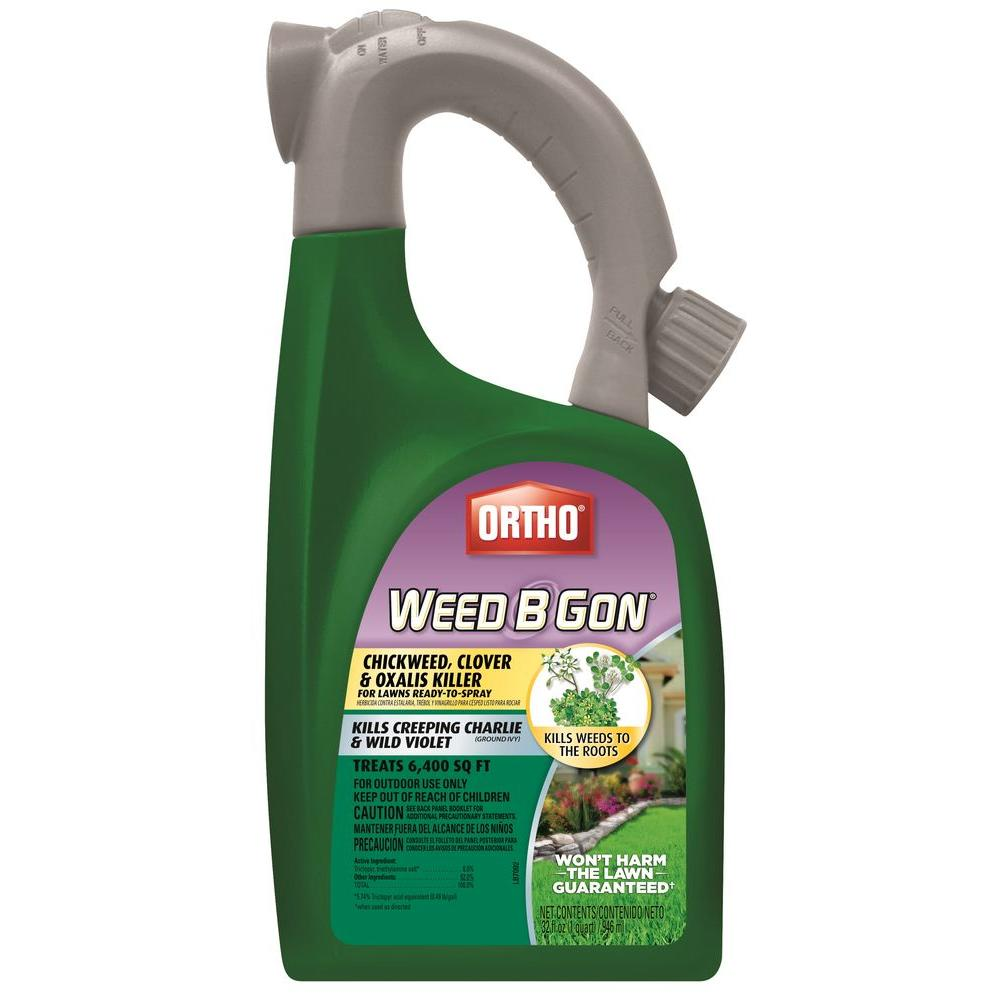 Scotts Weed B Gon 32 oz. Chickweed, Clover and Oxalis Killer For Lawns Ready-To-Spray