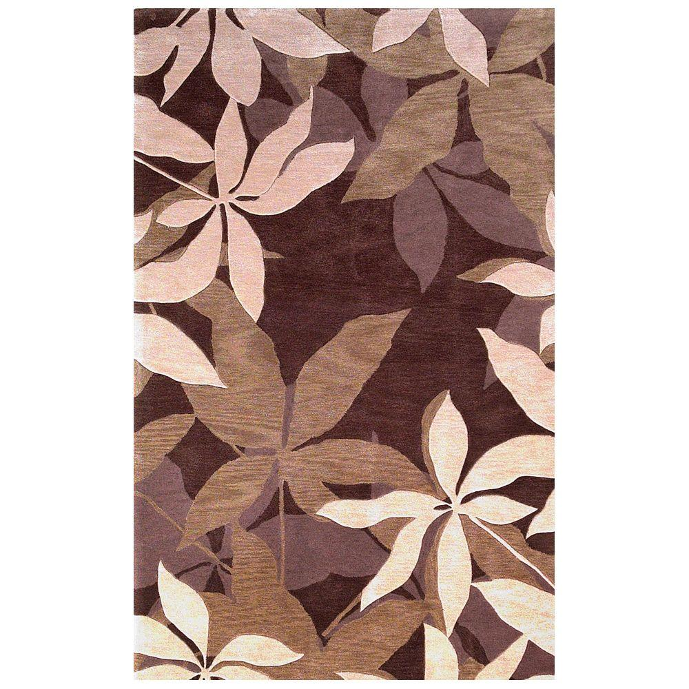 Kas Rugs Retreat Mocha/Sage 5 ft. x 8 ft. Area Rug, Green Extremely comfortable, the Kas Rugs 5 ft. x 8 ft. Area Rug is the perfect finishing touch to your home. This tufted rug has stain-resistant fabrics and fade-resistant materials. It has an oriental pattern for a designed piece that never goes out of style. It is designed with green elements, incorporating a fun and colorful ambiance into any room. This rug has a 100% polyacrylic design, which will resist fading over time. Color: Sage.