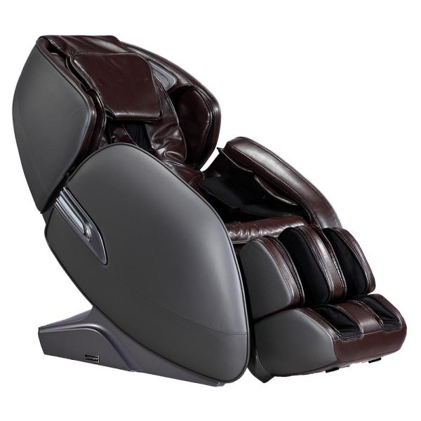 Infinity Infinity Meridian Brown L-Track Massage Chair with Body Scanning