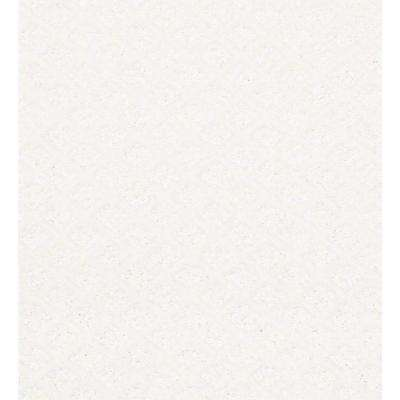Carpet Sample - Charm Square - Color Snow Fall 8 in. x 8 in.