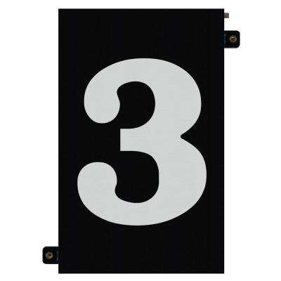 5 in. Modular LED Illuminated House Number 3