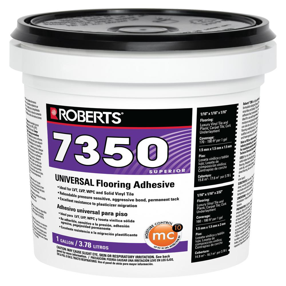 Roberts 1 Gal Universal Vinyl Flooring Adhesive 7350 1