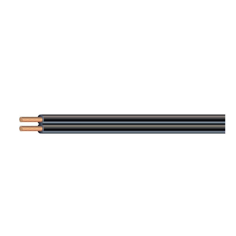 Southwire 250 ft. 12/2 Black Stranded CU Low-Voltage Landscape Lighting Wire