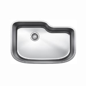 18-Gauge Stainless Steel 30 in. Single Bowl Undermount Kitchen Sink in Satin Polished