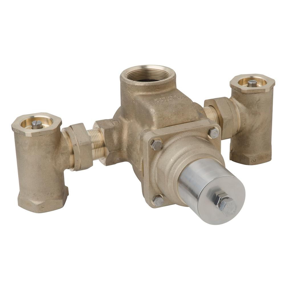 Thermostatic Mixing Valve: 1-1/2 In. X 1-1/2 In. TempControl Thermostatic Mixing