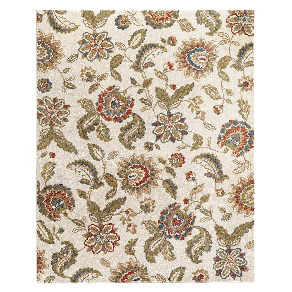 Home Decorators Collection Lucy Cream 8 Ft X 10 Ft Area Rug