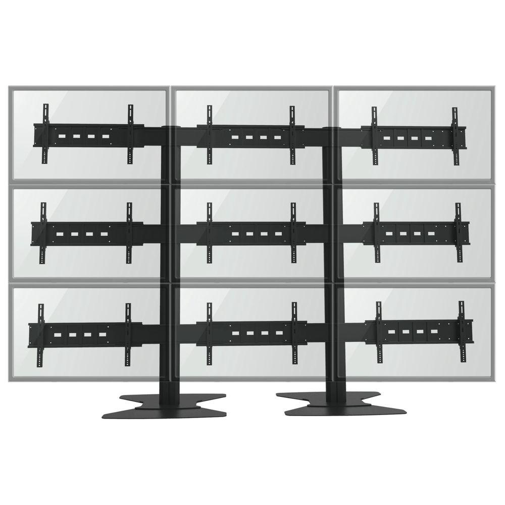 TygerClaw TV Wall for Nine 30 in. to 60 in. Flat