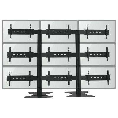 TygerClaw TV Wall for Nine 30 in. to 60 in. Flat Panel TV