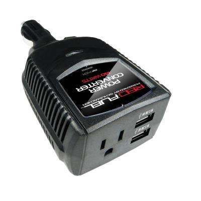 Battery Extender 140-Watt Dual USB Port with 120-Volt AC Household Power