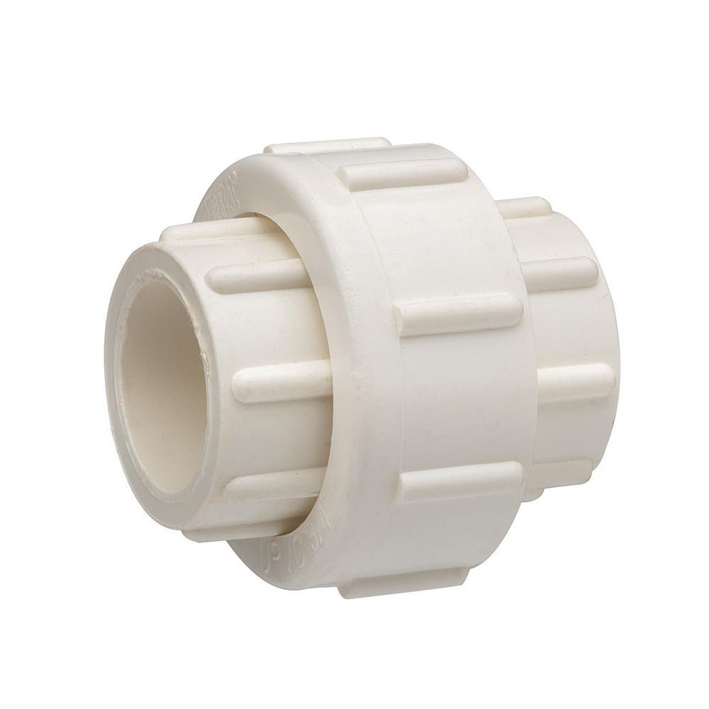 1-1/4 in. PVC Slip Joint x Slip Joint Union