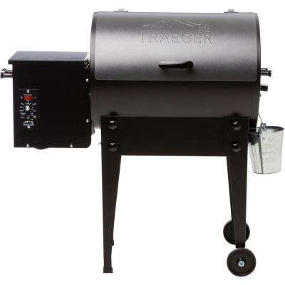 Tailgater Elite 20 Wood Pellet Grill and Smoker in Silver Vein