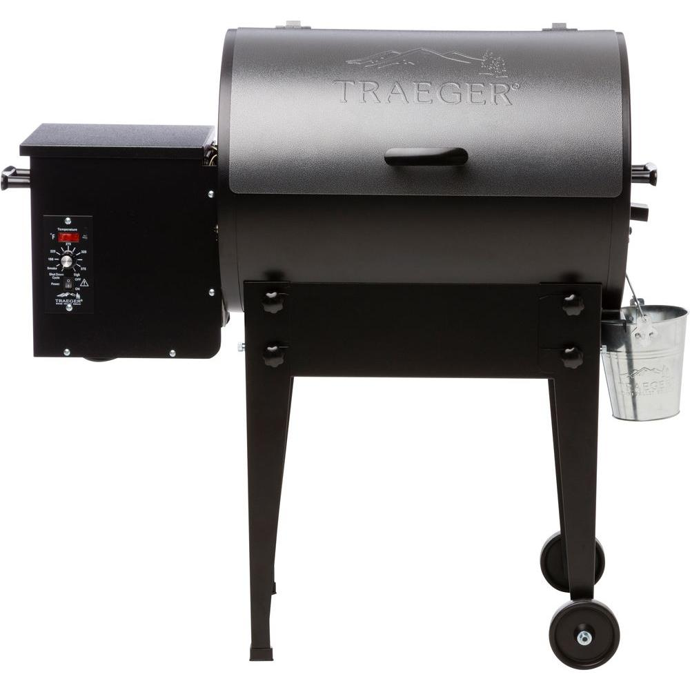 Traeger Tailgater Elite 20 Wood Fired Pellet Grill And Smoker In Silver Vein