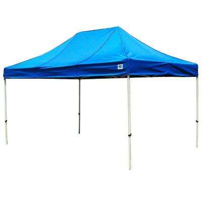 Festival 10 ft. W x 15 ft. D Instant Canopy in Blue