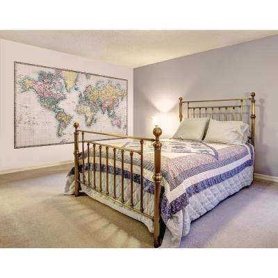118 in. x 98 in. Historic World Wall Mural