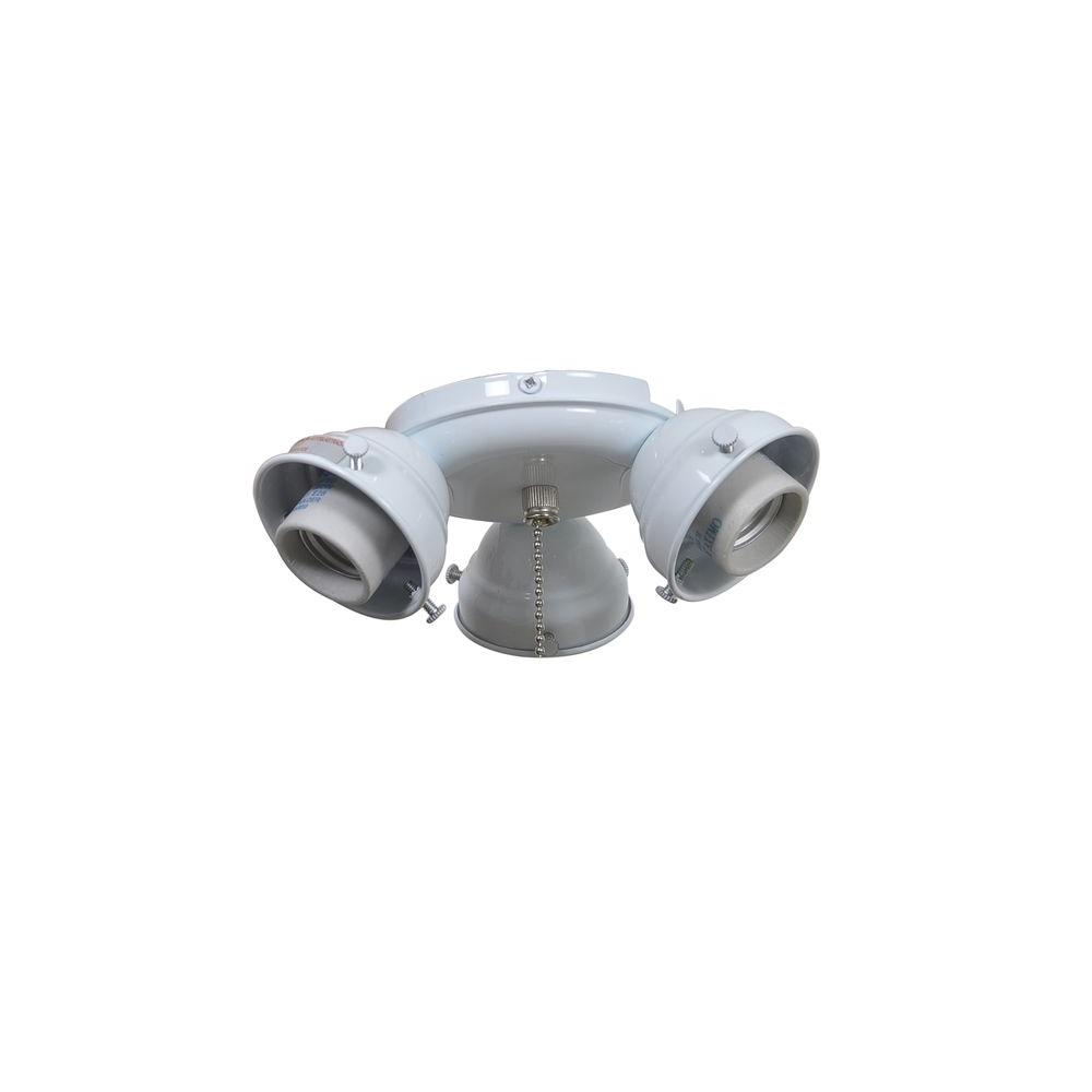 Ceiling Fan Cool Air : Air cool glendale in white ceiling fan replacement