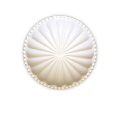 Laguna Dome Paint Grade White 5.25 in. x 5.25 in. Cleanout Cover