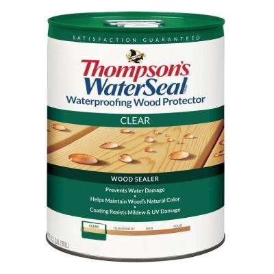 5 gal. Clear Waterproofing Wood Protector