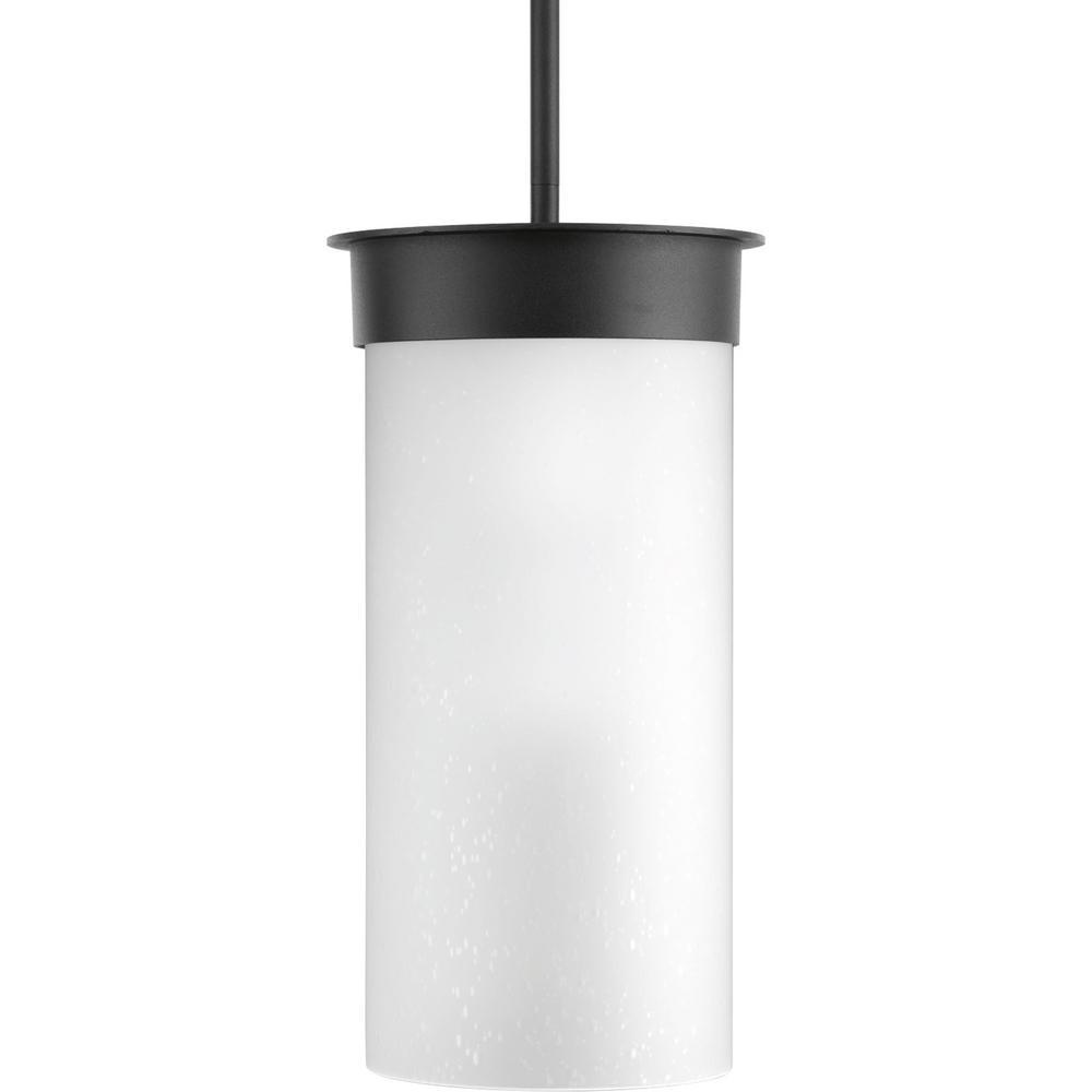 Hawthorne 1-Light Outdoor 7.5 in. Black Large Hanging Lantern
