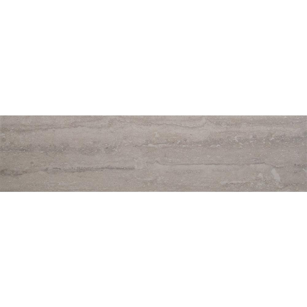 Msi Trevi Gris 6 In X 24 In Glazed Porcelain Floor And