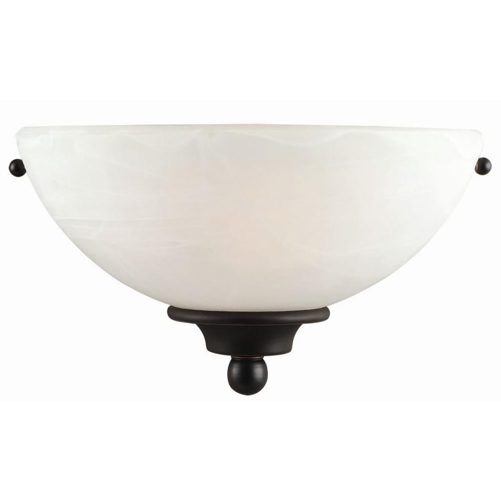 Design House Millbridge 1-Light Oil-Rubbed Bronze Wall Sconce