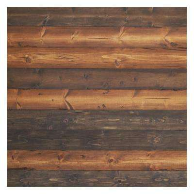 "Timeline Wood 11/32 in. x 5.5 in. x 47.5 in.  The ""Mix"" Brown  Wood Panels (6-Pack)"