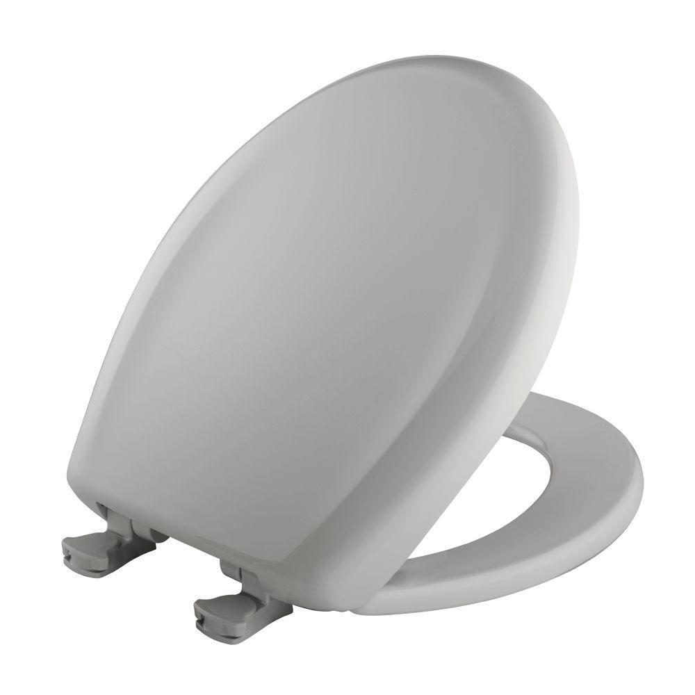 Fabulous Gray Elongated Toilet Seat Cover Short Links Chair Design For Home Short Linksinfo