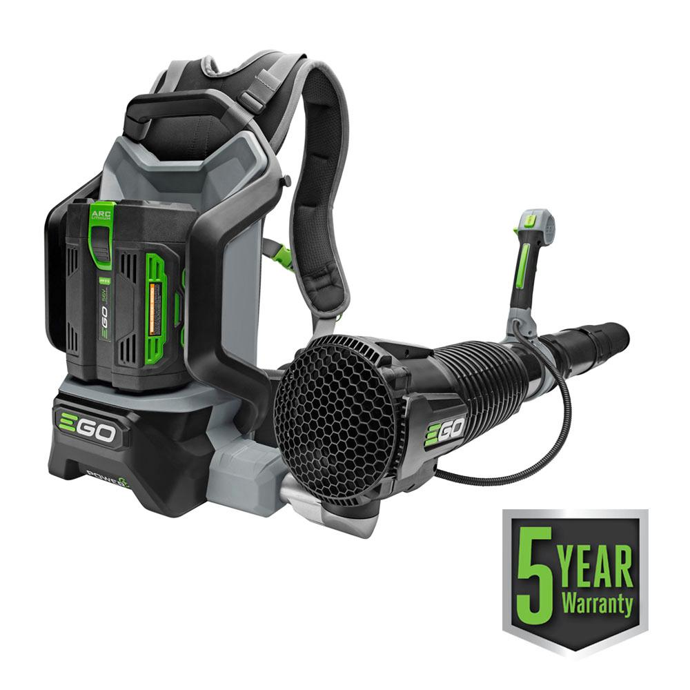 921bb891a4b8 EGO. 145 MPH 600 CFM 56-Volt Lithium-ion Cordless Backpack Blower with  5.0Ah Battery and Charger Included