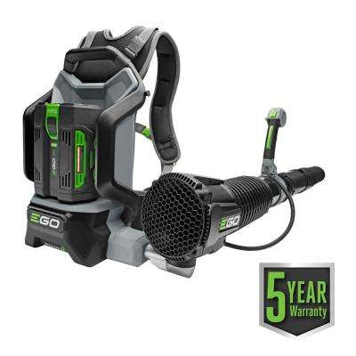 145 MPH 600 CFM 56-Volt Lithium-ion Cordless Backpack Blower with 7.5Ah Battery and Charger Included
