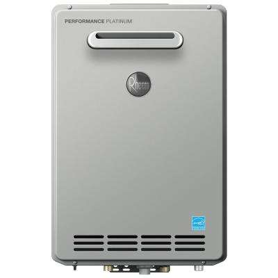 Performance Platinum 9.5 GPM Liquid Propane Gas High Efficiency Outdoor Tankless Water Heater