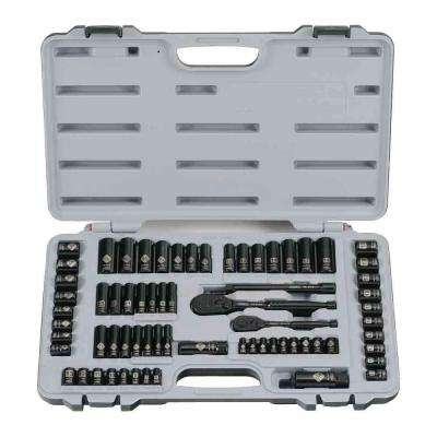 Black Chrome Socket Set (69-Piece)