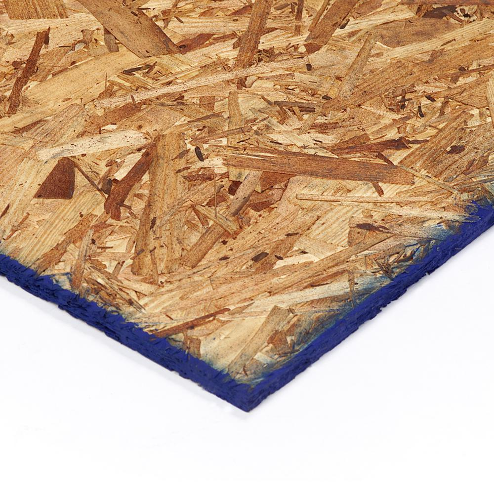 23/32 in. x 4 ft. x 8 ft. Pine Structural Engineered Oriented Strand Board (OSB)