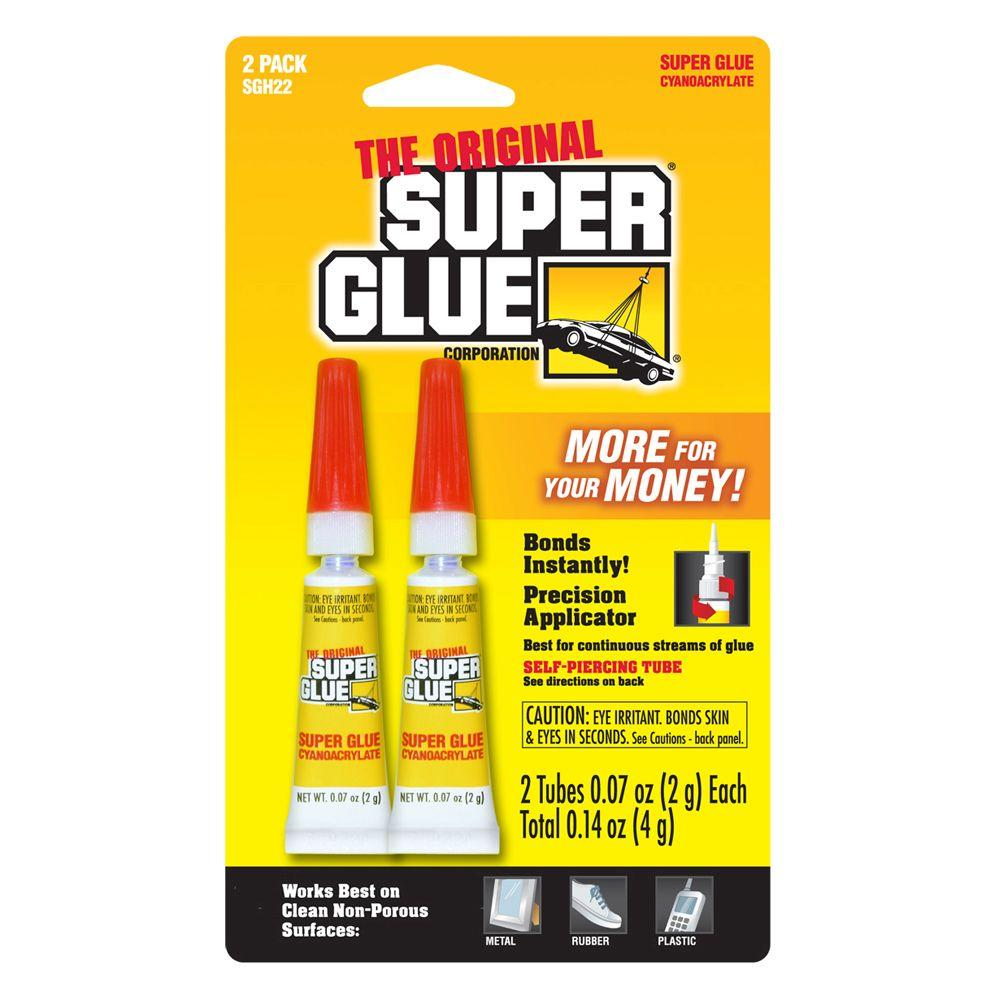 0.07 oz. Glue, (2) 0.07 oz. Tubes per card (12-Pack)