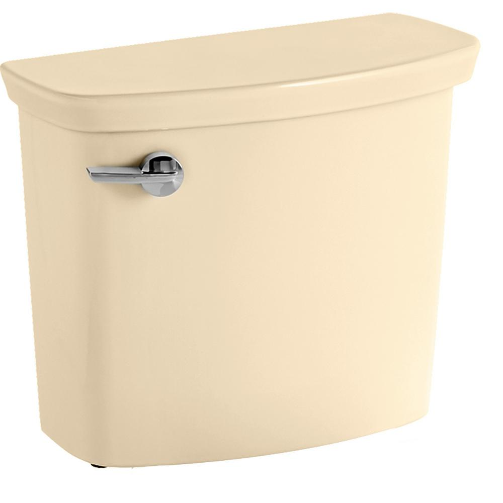 Vormax 1.28/1.6 GPF Single Flush Toilet Tank Only in Bone