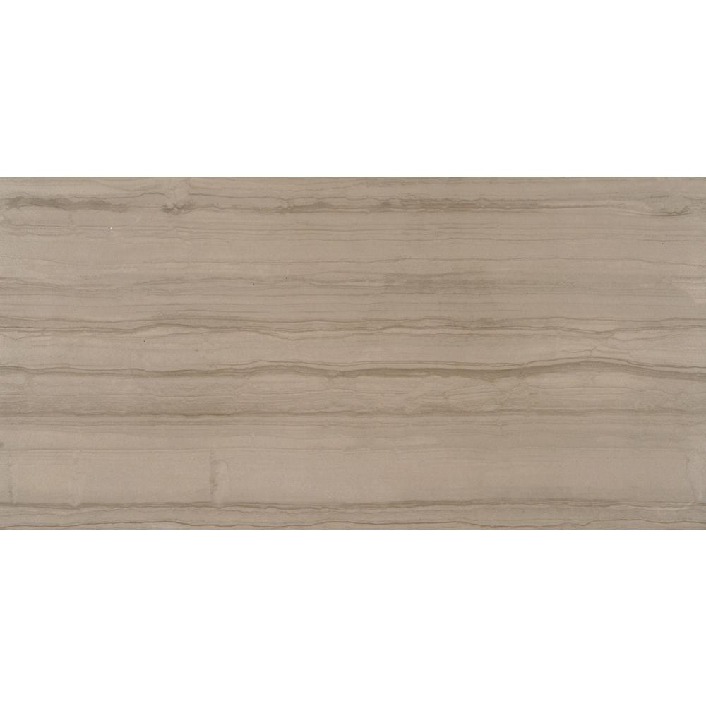 MSI Sophie Maron 12 in. x 24 in. Glazed Porcelain Floor and Wall Tile (48 cases / 576 sq. ft. / pallet)