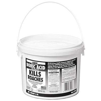 5 lb. Boric Acid Insecticidal Dust in Resealable Pail (4-Pack)