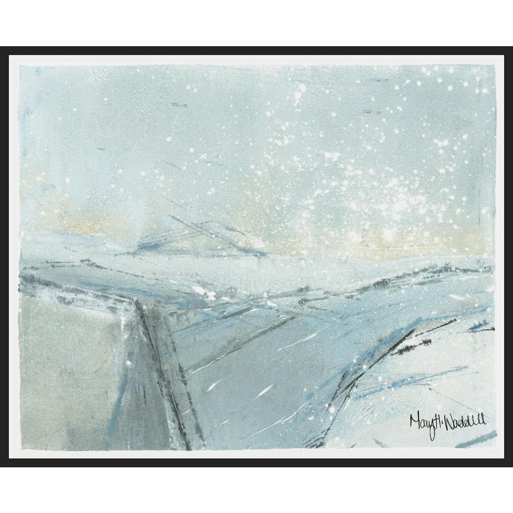 Arctic 1 , Framed Wall Art,  31 in x  25 in