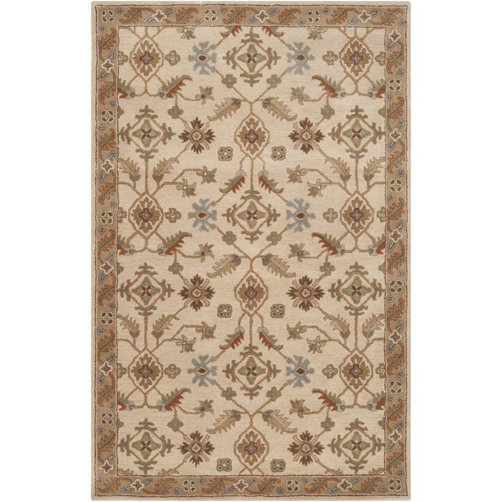 Epictus Beige 5 ft. x 8 ft. Indoor Area Rug