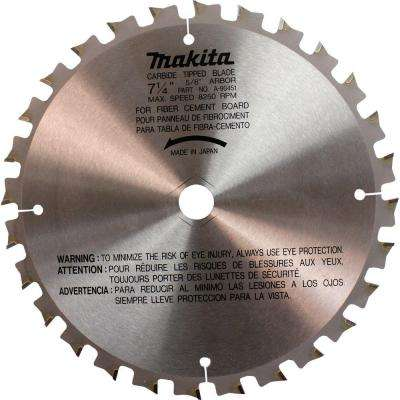 7-1/4 in. 28-Teeth Carbide Tipped Fiber Cement Blade